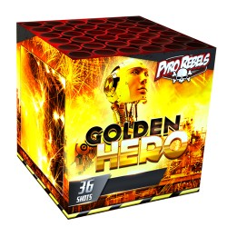 GOLDEN HERO - Volle doos!