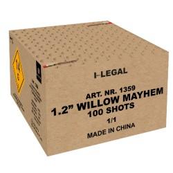 "1.2"" Willow Mayhem 100 SHOTS"
