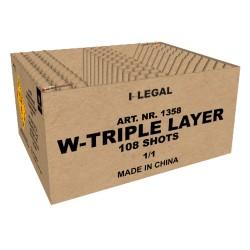 W-Triple Layer 108 shots