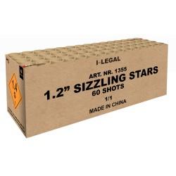 "1.2"" Sizzling Stars 60 shots"