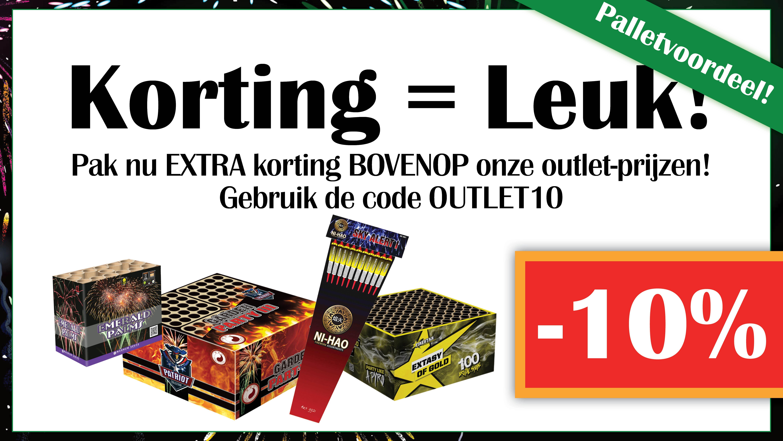 10% EXTRA Korting!